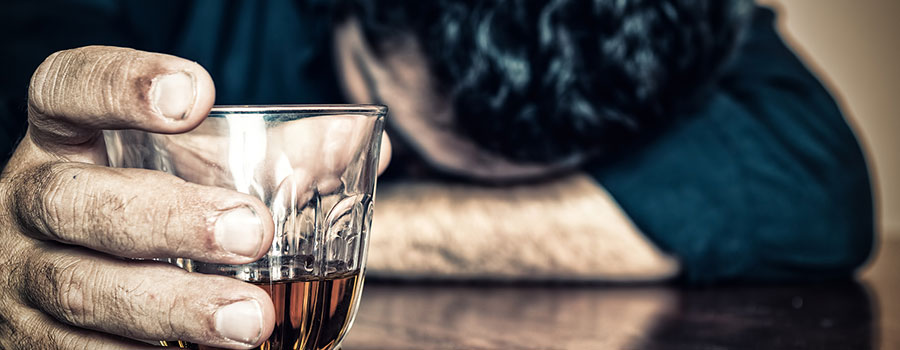 Gebet darüber, um zu werfen, für sich zu trinken